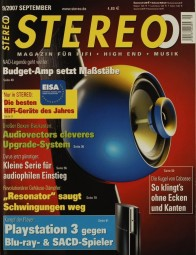 Stereo 9/2007 Zeitschrift