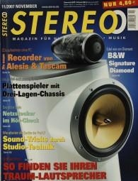 Stereo 11/2007 Zeitschrift