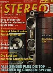 Stereo 6/2008 Zeitschrift