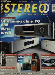 Stereo 8/2013 Zeitschrift