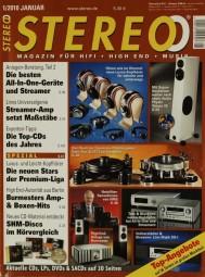 Stereo 1/2010 Zeitschrift