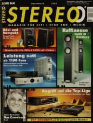 Stereo 5/2010 Zeitschrift
