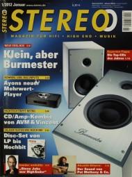 Stereo 1/2012 Zeitschrift
