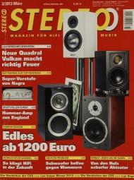 Stereo 3/2013 Zeitschrift