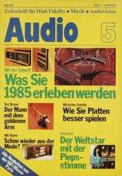 Audio 5/1978 Zeitschrift