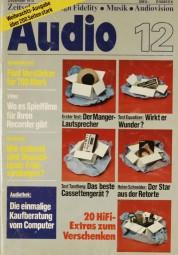 Audio 12/1978 Zeitschrift