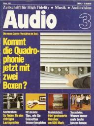 Audio 3/1981 Zeitschrift
