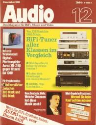 Audio 12/1982 Zeitschrift