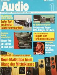 Audio 1/1987 Zeitschrift