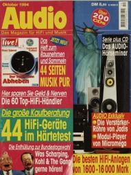 Audio 10/1994 Zeitschrift