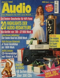 Audio 1/1995 Zeitschrift