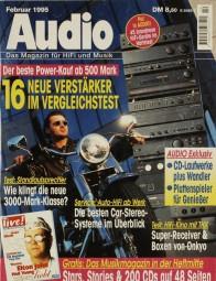 Audio 2/1995 Zeitschrift