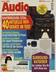 Audio 6/1995 Zeitschrift