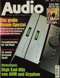 Audio 6/1996 Zeitschrift