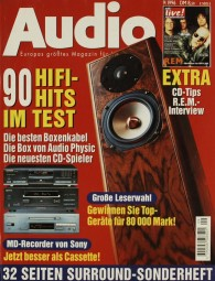 Audio 9/1996 Zeitschrift