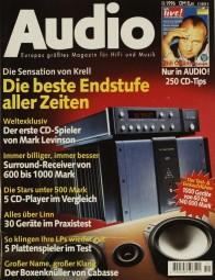Audio 11/1996 Zeitschrift
