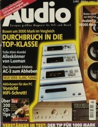 Audio 3/1997 Zeitschrift
