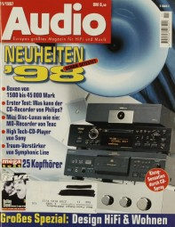 Audio 11/1997 Zeitschrift
