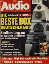 Audio 8/1998 Zeitschrift
