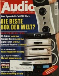 Audio 4/1999 Zeitschrift