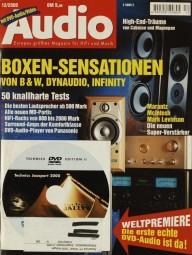 Audio 12/2000 Zeitschrift