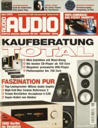 Audio 6/2002 Zeitschrift
