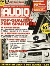 Audio 1/2004 Zeitschrift