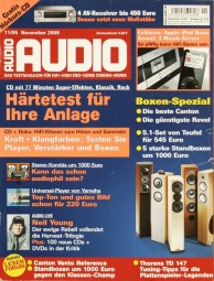 Audio 11/2005 Zeitschrift