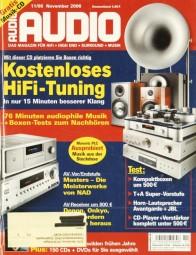 Audio 11/2006 Zeitschrift