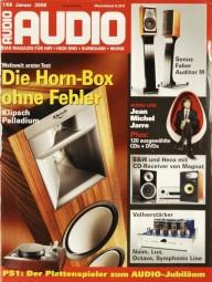Audio 1/2008 Zeitschrift