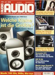 Audio 7/2009 Zeitschrift