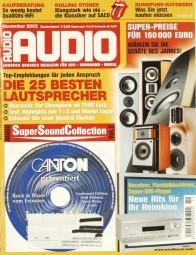 Audio 11/2002 Zeitschrift