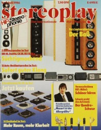 Stereoplay 7/1986 Zeitschrift