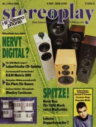Stereoplay 5/1990 Zeitschrift