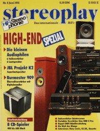 Stereoplay 6/1991 Zeitschrift
