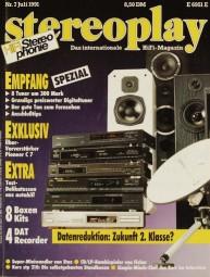 Stereoplay 7/1991 Zeitschrift