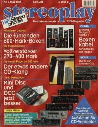 Stereoplay 5/1994 Zeitschrift