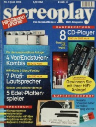 Stereoplay 6/1994 Zeitschrift