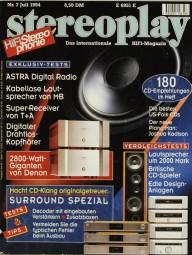 Stereoplay 7/1994 Zeitschrift