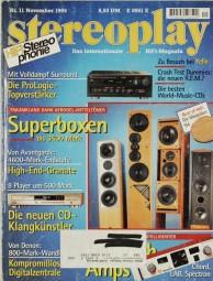 Stereoplay 11/1994 Zeitschrift