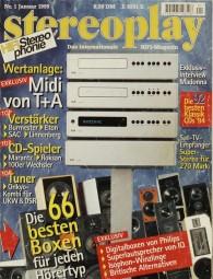 Stereoplay 1/1995 Zeitschrift
