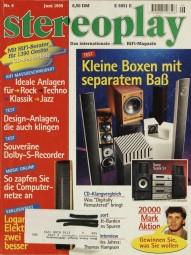 Stereoplay 6/1995 Zeitschrift