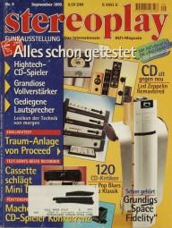 Stereoplay 9/1995 Zeitschrift