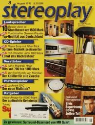 Stereoplay 8/1997 Zeitschrift