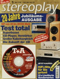 Stereoplay 5/1998 Zeitschrift