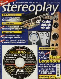 Stereoplay 11/1998 Zeitschrift