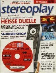 Stereoplay 7/1999 Zeitschrift