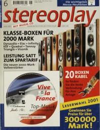 Stereoplay 6/2001 Zeitschrift