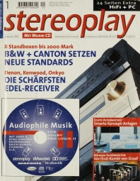 Stereoplay 1/2002 Zeitschrift