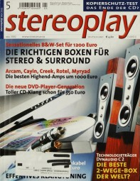 Stereoplay 5/2002 Zeitschrift